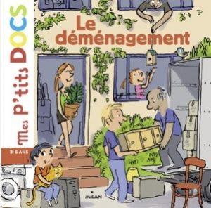 Livre demenagement enfant 3-6 ans - Volume Demenagement 1